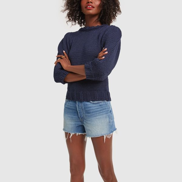 RE/DONE '70s High-Rise Shorts