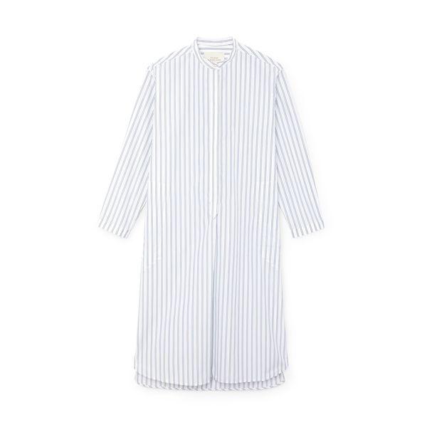 Studio Nicholson Striped Cotton Shirtdress