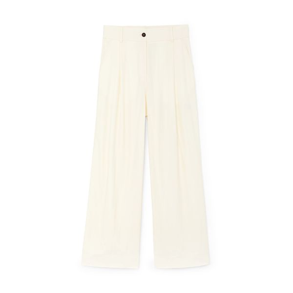 Studio Nicholson Dry Drape Twill Full-Length Trousers