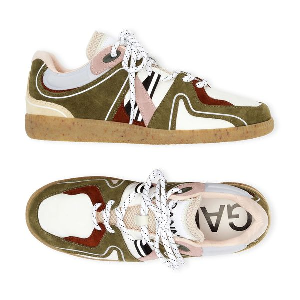 GANNI Sporty Mix Sneakers