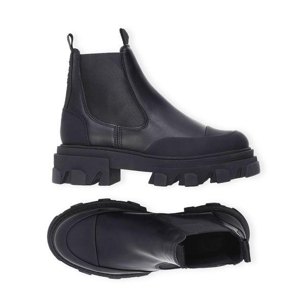 Ganni Calf Leather Boots