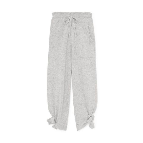 TIBI Cashmere Tie Lounge Sweatpants
