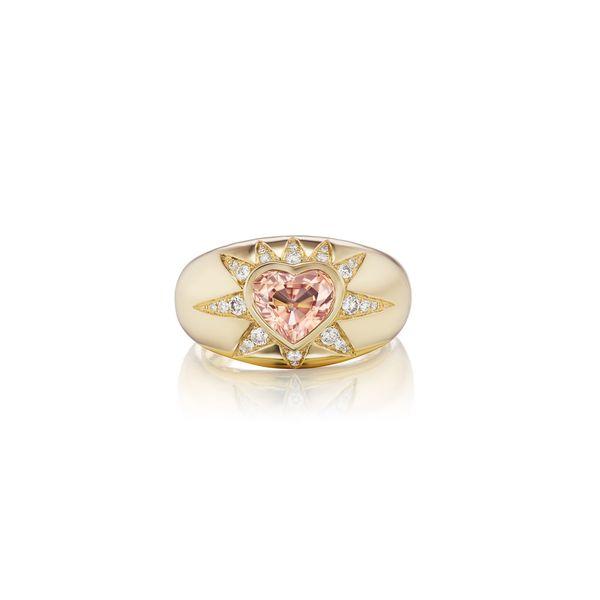 Sorellina Starburst Heart Ring