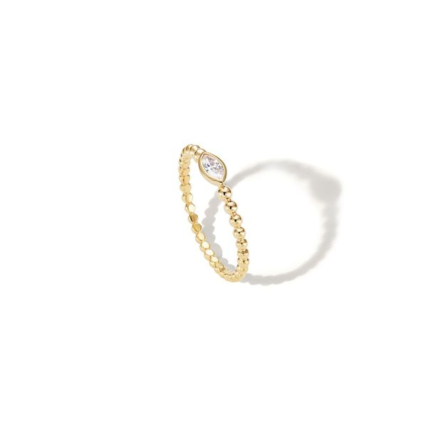 SOPHIE RATNER Beaded Marquise Ring
