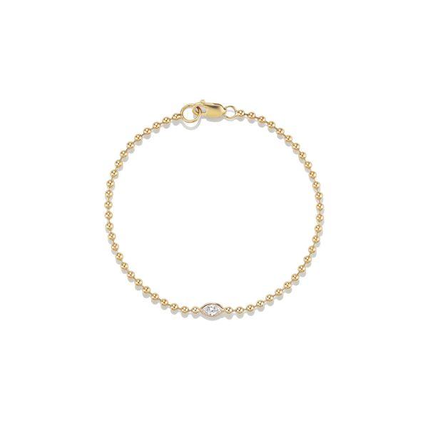 SOPHIE RATNER Beaded Marquise Bracelet