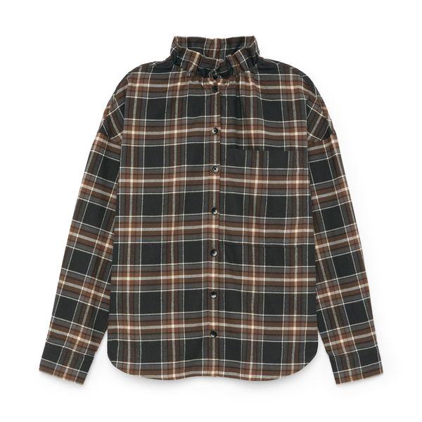 Tibi Theodore Ruffle Shirt