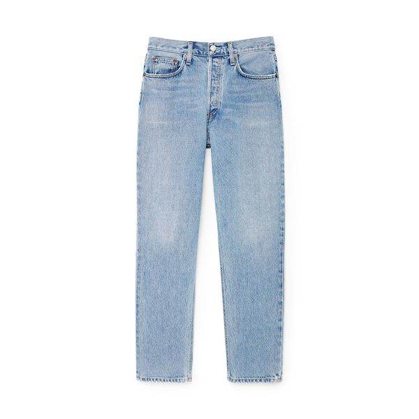 AGOLDE Fen High-Rise Tapered Jeans