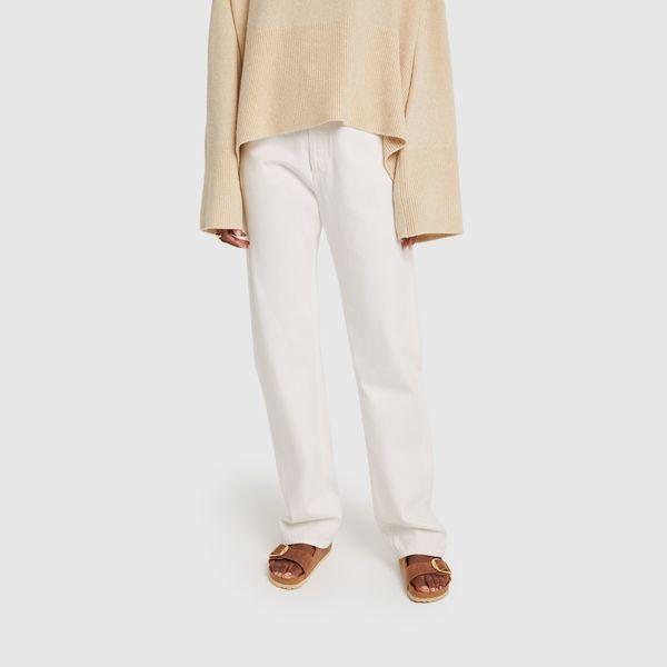 AGOLDE Lana Midrise Straight Jeans