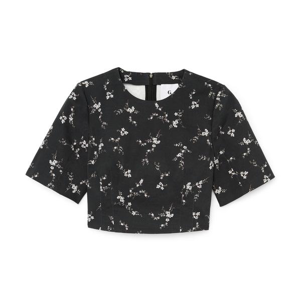 G. LABEL Taz Short-Sleeve Top