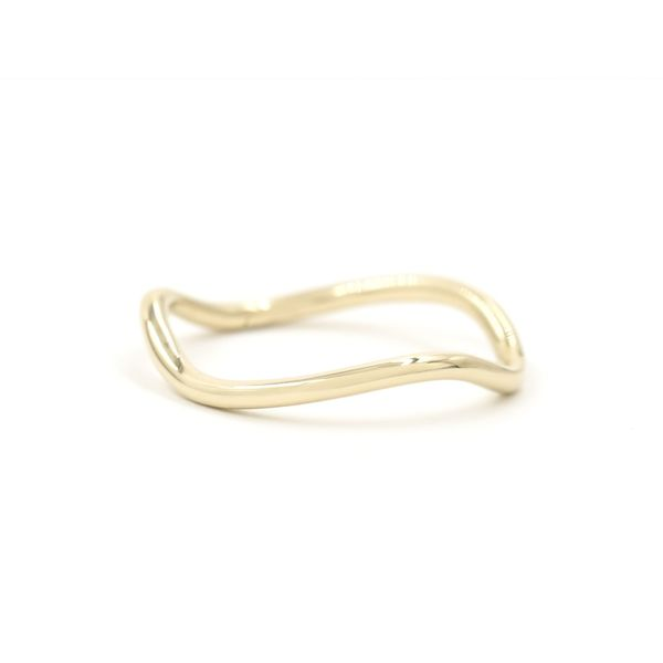 BONDEYE JEWELRY Solid Wave Ring
